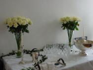 Simplicité et transparence pour des créations florales de mariage élégantes et chic.