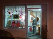 Scénographie de vitrines de professionnels