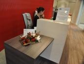 Agence Vallogis Orléans à choisie une création florale stabilisée pour sa nouvelle agence.