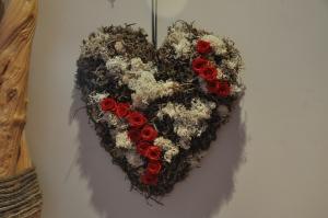 Un cœur immortel pour son être aimé.