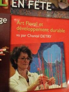 """Un article dans """"Atelier Floral"""" sur la démarche de Développement Durable de Chantal DETRY à Orléans"""