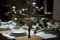 table d'hiver, scénographie pour un repas inoubliable.